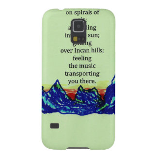 andean flutes galaxy s5 cover