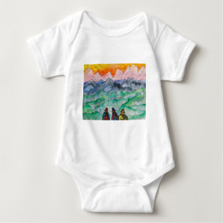 Andean Landscape Baby Bodysuit