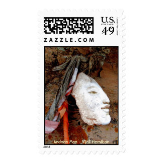 Andean Man/Stamp