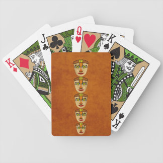 Andean Mask Bicycle Playing Cards