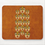 Andean Mask Mouse Pads