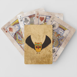 Andean Owl Bicycle Playing Cards