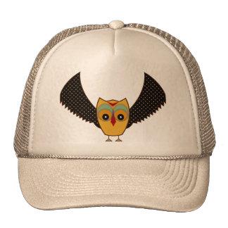 Andean Owl Gorros Bordados