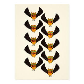 """Andean Owl Invitación 5"""" X 7"""""""