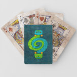 Andean Snake Bicycle Playing Cards