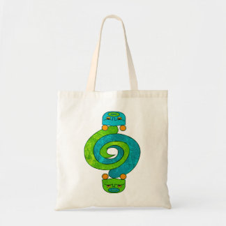 Andean Snake Tote Bag
