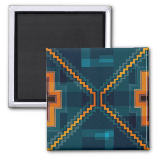 Andean Square Magnet