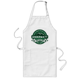 Andermatt Logo Forest Long Apron