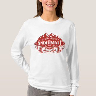 Andermatt Mountain Emblem T-Shirt