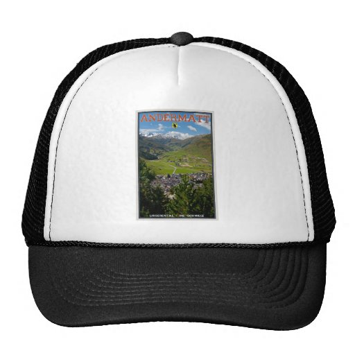 Andermatt, Switzerland Trucker Hat