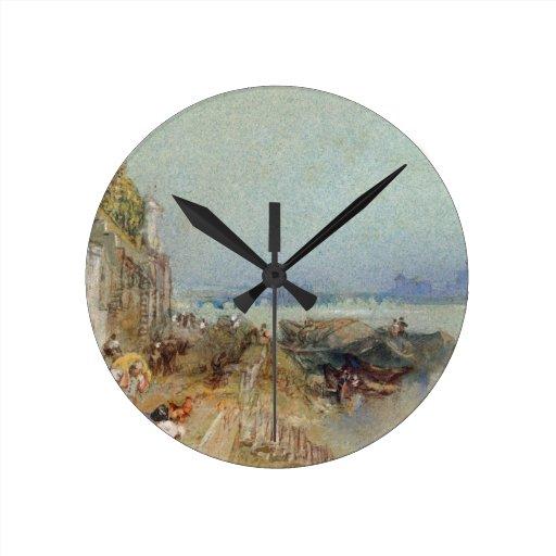 Andernach, 1817 (w/c con la pluma y la tinta negra relojes de pared