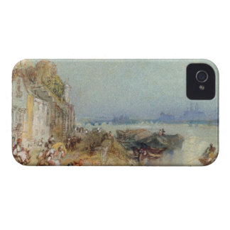 Andernach, 1817 (w/c with pen and black ink on wov iPhone 4 Case-Mate cases