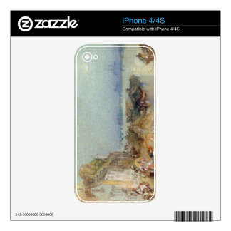 Andernach, 1817 (w/c with pen and black ink on wov iPhone 4 decal