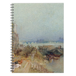 Andernach, 1817 (w/c with pen and black ink on wov notebook