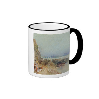 Andernach, 1817 (w/c with pen and black ink on wov ringer mug