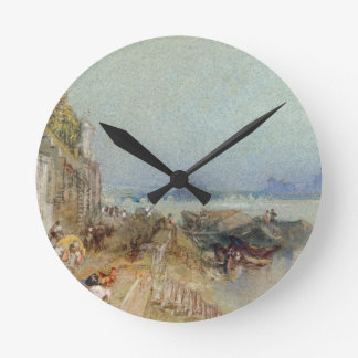 Andernach, 1817 (w/c with pen and black ink on wov round clock