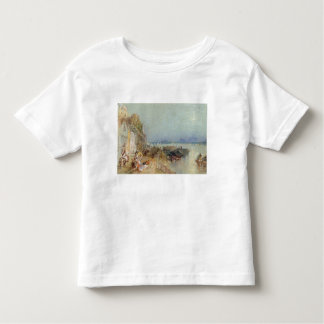 Andernach, 1817 (w/c with pen and black ink on wov tee shirt