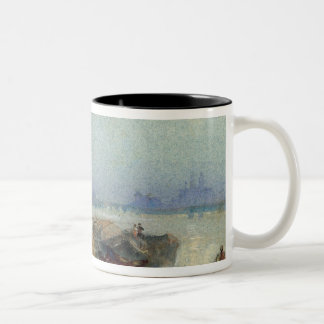 Andernach, 1817 (w/c with pen and black ink on wov Two-Tone coffee mug