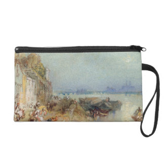 Andernach, 1817 (w/c with pen and black ink on wov wristlet purse