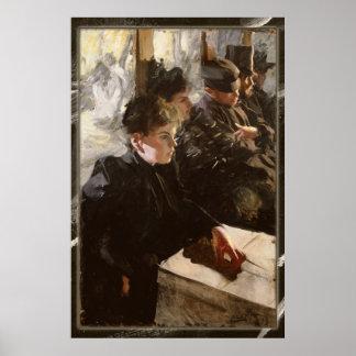 Anders Zorn - poster del Omnibus CC0276 Póster