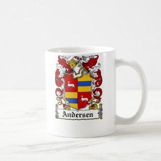 Andersen Family Crest Coffee Mugs