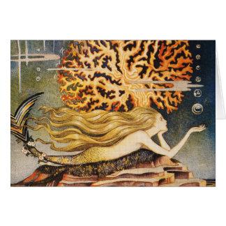 Andersen: Little Mermaid Drawing Card