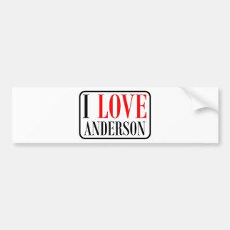 Anderson, Alabama City Design Bumper Sticker
