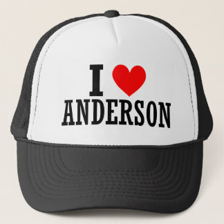 Anderson, Alabama City Design Trucker Hat