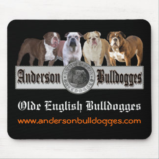 Anderson Bulldogges Mouse Pad