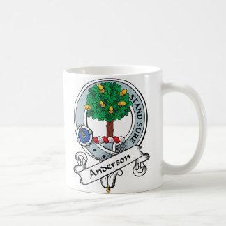 Anderson Clan Badge Coffee Mug