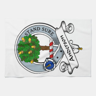 Anderson Clan Badge Hand Towels