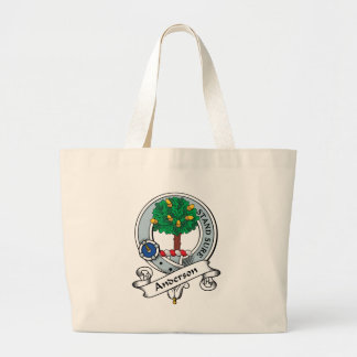Anderson Clan Badge Large Tote Bag