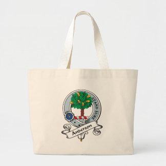 Anderson Clan Badge Large Tote Bag
