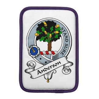 Anderson Clan Badge.png Sleeve For iPad Mini