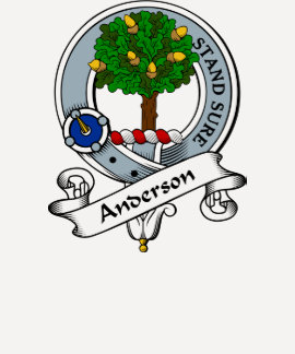 Anderson Clan Badge Shirt