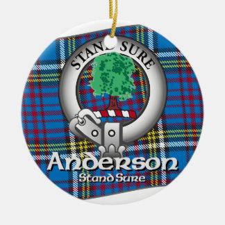 Anderson Clan Ceramic Ornament