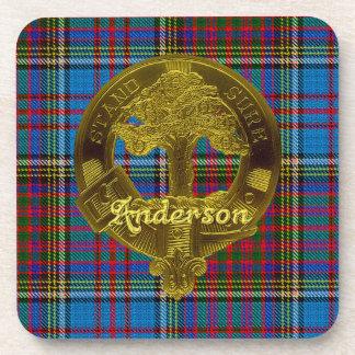 Anderson Clan Coaster Set