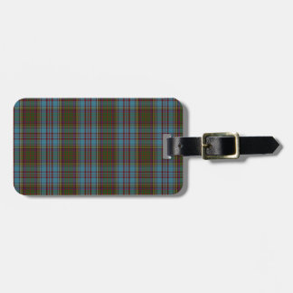 Anderson Clan Family Tartan Tag For Luggage