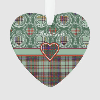 Anderson clan Plaid Scottish tartan