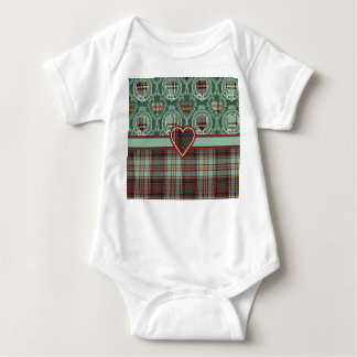 Anderson clan Plaid Scottish tartan Baby Bodysuit