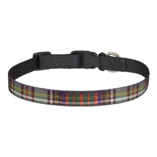 Anderson clan Plaid Scottish tartan Pet Collar