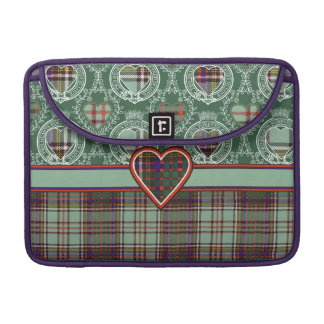Anderson clan Plaid Scottish tartan Sleeve For MacBook Pro