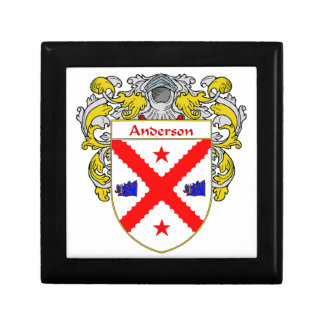 Anderson Coat of Arms/Family Crest Gift Box
