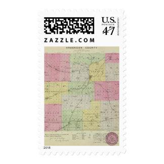 Anderson County, Kansas Postage