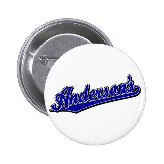 Anderson en azul pin