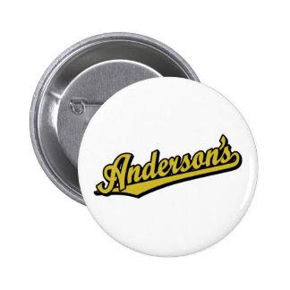 Anderson en oro pins