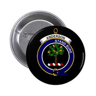 Anderson - escudo del clan pins