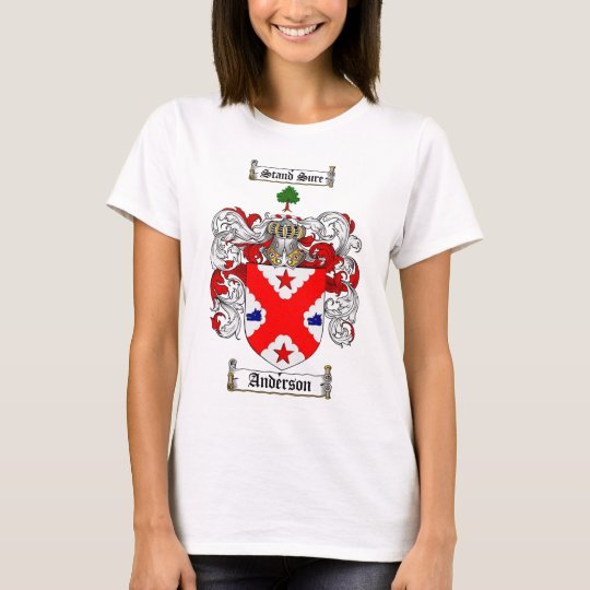ANDERSON FAMILY CREST -  ANDERSON COAT OF ARMS T-Shirt