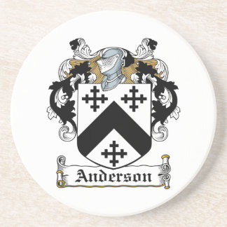 Anderson Family Crest Coaster