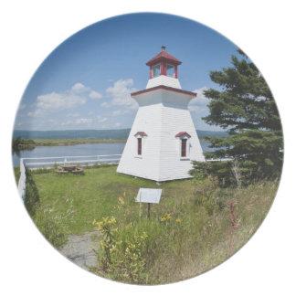 Anderson Hallow Lighthouse in Riverside-Albert, Dinner Plate